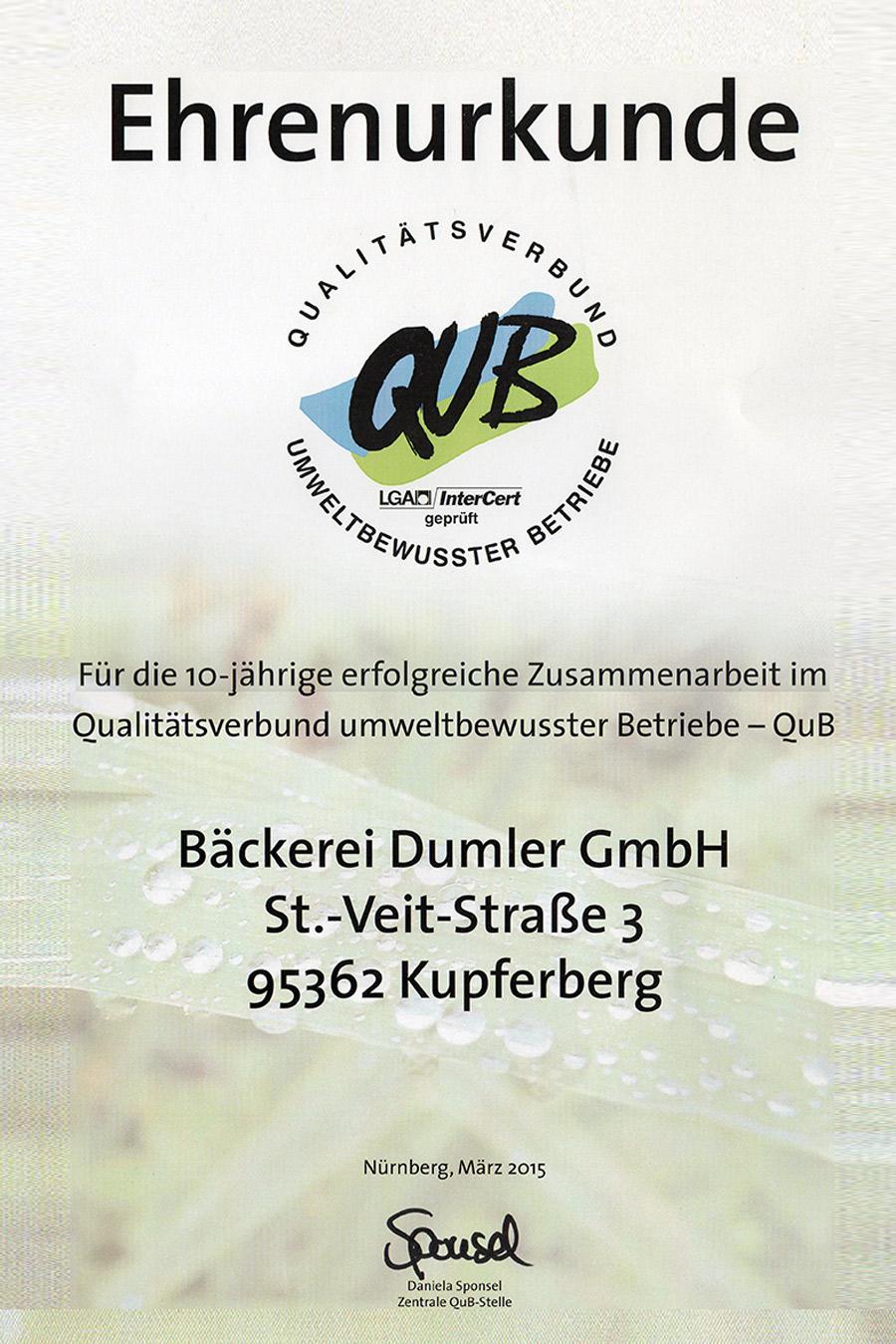 Dumler_Ehrenurkunde_QuB_Web